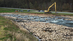 """Der """"neue"""" Schieder See 2016_04_15 (DeeDee Pix) Tags: lake water river see stream wasser terraces artificial reservoir damm fluss emmer stausee 2016 terrassen deedeepix schieder umflut"""