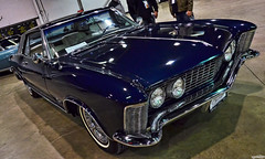 1963 Buick Riviera (Chad Horwedel) Tags: blue classic car illinois buick riviera rosemont riv buickriviera worldofwheels 1963buickriviera wow2016