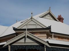 Triple Gables (mikecogh) Tags: roof chimney exeter gables triple lattice
