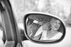 Wedding (siebe ) Tags: wedding people blackandwhite holland netherlands monochrome dutch car groom mirror bride couple nederland marriage weddingday refelction trouwen bruiloft trouwdag 2016 weddingphotography bruidspaar bruid bruidsreportage trouwreportage bruidsfotografie