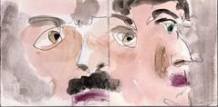 sie hasste das Leben fr die Entscheidungen, die es von ihr forderte. Warum konnten die Dinge niemals einfach sein (raumoberbayern) Tags: summer bus pencil subway munich mnchen sketch drawing sommer tram sketchbook heat ubahn draw bleistift robbbilder skizzenbuch zeichung