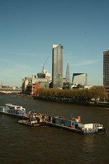 Walk around London 7 (MichaelWard82) Tags: building london thames skyline architecture buildings crane southbank shard oxotower theshard