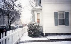 Candace Bonfiglio Photography (candacebonfiglio) Tags: snow color film kodak massachusetts unitedstatesofamerica colorphotography snowstorm beverly olympusxa filmphotography colorfilm olympusxa4 kodakporta kodakporta400