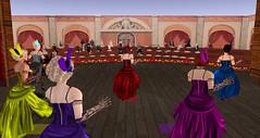 ACT - Vaudeville Theatre (Osiris LeShelle) Tags: life heart theatre stage performance secondlife second cameo act vaudeville avilion