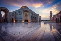 Sultan Qaboos Grand Mosque (IzTheViz) Tags: mosque oman qaboos muscat mascate mascat sultanqaboos