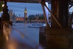 NEX-5N_15-07-17_DSC00317 (alexgascoigne) Tags: city blue london tower clock thames river evening twilight time dusk capital housesofparliament bigben landmark tourists southbank mp primeminister brendanandjonswedding