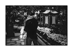 Proposal at Tiffany (pietro marino) Tags: travel wedding people bw usa america lasvegas bellagio proposal tiffany