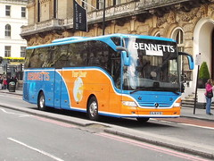 BJ16KYB (47604) Tags: bus coach victoria gloucester bennetts bj16kyb