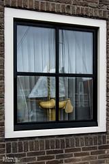 Voilier  une fentre (Picture Lille) Tags: bas fentre pays voilier monnickendam hollande
