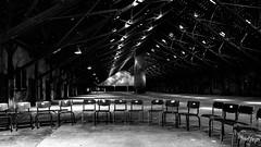 take a seat (thrbnzzyzx) Tags: bw circle hall chair room hamburg sw halle neuengamme kz stuhl bergedorf sthle kreis gedenksttte schwarzweis