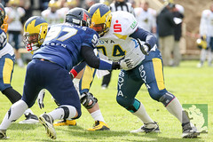"GFL2 Hildesheim Invaders vs. Assindia Cardinals (Testspiel) 24.04.2015 023.jpg • <a style=""font-size:0.8em;"" href=""http://www.flickr.com/photos/64442770@N03/26608648751/"" target=""_blank"">View on Flickr</a>"