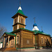 Igreja em madeira em Blagoveschensk