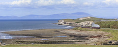 Cumbrian Coast panorama (EltonRoad) Tags: sea train coast jubilee lakedistrict railway loco class steam line cumbria locomotive westcoast harrington galatea cumbrian solwayfirth 45699 railwaytouringcompany cumbriancoastexpress
