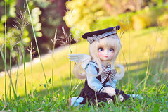 Stranded Angel (Ribbonfiend) Tags: tiny bjd superdollfie volks abjd tsugumi yotenshi