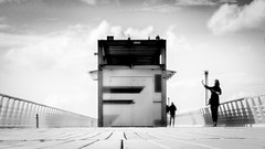The pier (martina.stang) Tags: pov highcontrast surreal blurred highkey