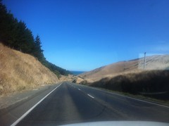 Driving Down (Assaf Shtilman) Tags: ocean road new car driving zealand
