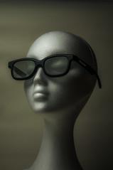 Real 3d (dACE :)) Tags: portrait stilllife woman white blanco sunglasses 50mm glasses mujer retrato bodegn gafas blanc dona retrat ulleres fotodiox