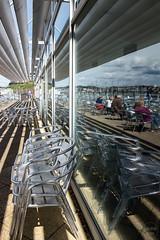 cafe reflection | torquay (John FotoHouse) Tags: color colour reflections flickr fuji torquay johndolan 2016 dolan southdevon leedsflickrgroup johnfotohouse copyrightjdolan fujifilmx100s