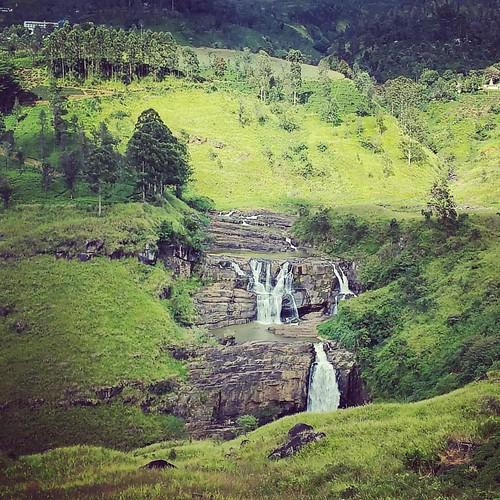 St Clair's Falls #srilanka #waterfall #talawakele