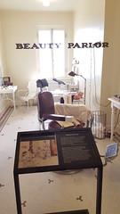 Beauty parlor Inside the Fordyce Bathhouse