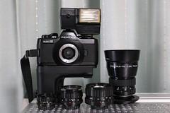 IMG_1570 (digitalbear) Tags: camera old japan analog pen canon tokyo december pentax ae1 olympus collection contax g1 a1 tvs kyocera oldcamera ecru digitalbear ixy 2015 auto110 oproduct