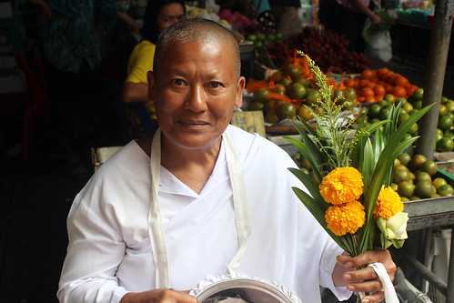 Hua Hin Markets - lay monk