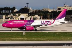 Wizzair --- Airbus A320SL --- HA-LWU (Drinu C) Tags: plane aircraft aviation sony airbus dsc a320 wizzair mla lmml hx100v adrianciliaphotography a320sl halwu