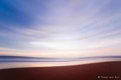 Poetic  sunset in Sidi Kaouki. (www.travelandroll.com ==//== fb.com/travelandroll) Tags: ocean park longexposure travel blue autumn winter light sunset summer sun sunlight abstract cold color art fall love beach nature water beauty yellow clouds digital vintage season lens landscape geotagged coast spring sand nikon colorful warm soft paint surf peace purple outdoor spirit misc fineart places fisheye adventure morocco zen maroc soul fixed manual editor ultrawide manualfocus f28 feelings lightroom autofocus 14mm sidikaouki samyang urbanarte rokinon d700 lightroompreset vsco distinguishedsunrisesandsunsets vscoco travelandroll