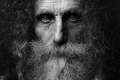 Mariangelo (Alessio Albi) Tags: old portrait white black beauty beard