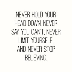 Never hold your  Head down, never Say you can't, never Limit yourself, And never stop Believing. #HappyFriday ******************************* #MichelottiLawFirm #JosephMichelotti #attorney #ChicagoAttorney #Chicagolawfirm #lawyers #chicago #illinois #Bank (Michelotti and Associates, Ltd) Tags: chicago illinois divorce kanecounty lawyers attorney cookcounty lakecounty bankruptcy dupagecounty happyfriday estateplanning willcounty assetprotection irsproblems chicagoattorney foreclosuredefense chicagolawfirm estateplanningchicago josephmichelotti michelottilawfirm