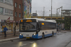 GVB Citea bus 1453, Lijn 41, Insulindeweg (Don Maskerade) Tags: world bus public netherlands dutch amsterdam traffic transport nederland transportation autobus 41 gvb daf ov the amsterdamse vervoer vdl openbaar citea insulindeweg 1453 muiderpoortstation gemeentelijk of vervoerbedrijf standaardbus citeaii