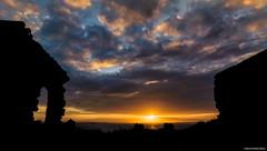 Silo Sunset (ManchegoP.R) Tags: sky sun dark ruins puertorico