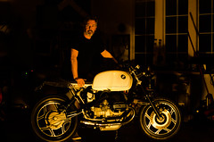 Paul Muir - BMW R100RS (crcmuir) Tags: cafe nikon motorbike bmw custom build racer