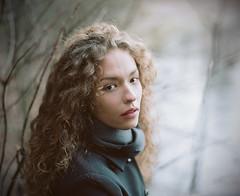 Liza. (vladimir_romansky) Tags: portrait people film girl pentax kodak bokeh tmax indoor push medium format 6x7 67 105mm pentax67