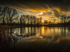 Nacreous at the Centre (Vemsteroo) Tags: uk longexposure sunset reflection weather clouds canon big birmingham dramatic 5d iridescent epic westmidlands brum extremeweather stopper nacreous nacreousclouds mkiii 1635mm visitengland leefilters visitbritain