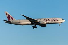 A7-BFD - Qatar Airways Cargo - Boeing 777-200 (5B-DUS) Tags: am airport frankfurt main cargo international boeing airways flughafen 777 fra qatar fraport b777 eddf 777200 b772 a7bfd