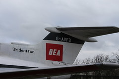 IMG_1207 (routemaster2217) Tags: bea aircraft aeroplane duxford airliner imperialwarmuseum iwm turbofan britisheuropeanairways gavfb rollsroycespey hawkersiddeleytridenttwo