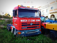 'Watch It Come Down' Foden 4500 6x4 former N959 KGH with Syd.Bishop & Sons now in Malta. (Daniel's Transport Photos) Tags: truck malta syd bishop rabat 4500 foden
