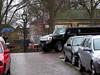 Hummer Limo (Johan Moerbeek) Tags: street rain limo hummer h2 alkmaar straat smal