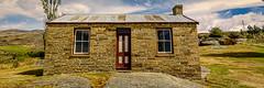 Abodes (grantg59@xtra.co.nz) Tags: door house building rock architecture central cottage otago miner stonemason schist
