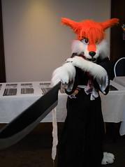 P1230177 (Kakurady) Tags: red furry cosplay bleach ichigo fursuit ganime zanpakuto