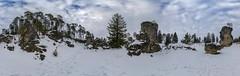Hebe360Wental-Winter (Hebe.Photography) Tags: schnee winter panorama snow zeiss high rocks quality sony 360 steine carl grad bume f4 tal januar tanne felsen highres aalen 2016 2470 heidenheim bartholom ostalb a7r wental sel2470z fe2470
