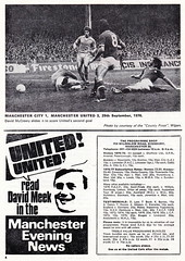 Manchester United vs Norwich City - 1976 - Page 4 (The Sky Strikers) Tags: old city red manchester one football official united devils norwich division trafford league programme