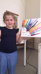 Melted Crayons I اقلام الشمع الذائبة