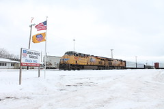 UP 7683 (CC 8039) Tags: up wisconsin superior trains itasca cnw ess44ac