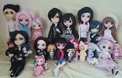 Photo de groupe ♥ (Kulukala Art) Tags: doll dal planning groove pullip jun junplanning taeyang byul