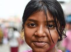 a lil cutie pie (s) Tags: portrait india girl kid headshot kolkata bengal calcutta streetshot kalighat lilgal kalighattemple