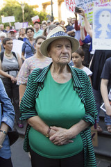 (louisa_catlover) Tags: city summer demo democracy refugees politics rally protest australia melbourne victoria demonstration february activism directaction sanctuary freespeech swanstonst asylumseekers 2016 statelibraryofvictoria letthemstay