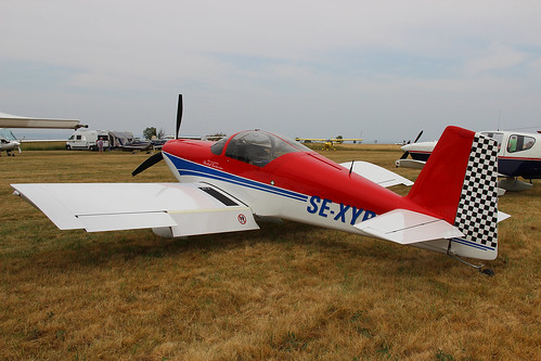 SE-XYB Vans RV-6 at Visingsö ESSI