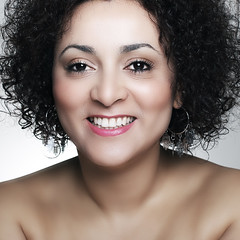 Smile! (Cristina Tiurean Photography) Tags: woman beautiful beauty smile face closeup canon happy glamour skin head makeup marocco esotic marrocan